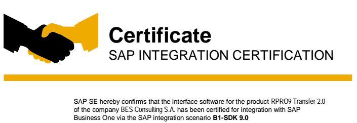 certificado-retailpro-sap-business-one